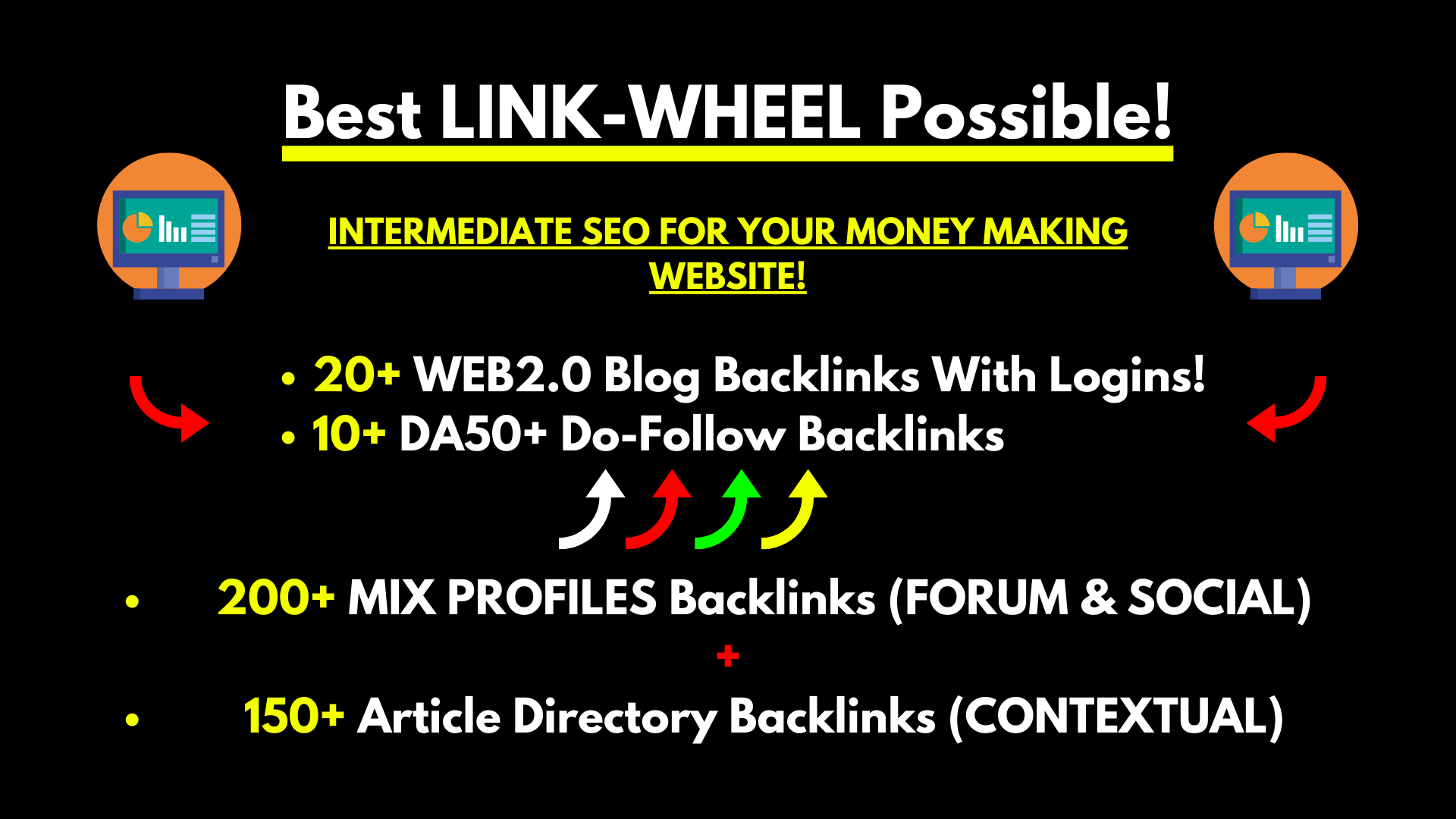 Best Link Wheel For The Single Post Rankings - 380+ Backlinks