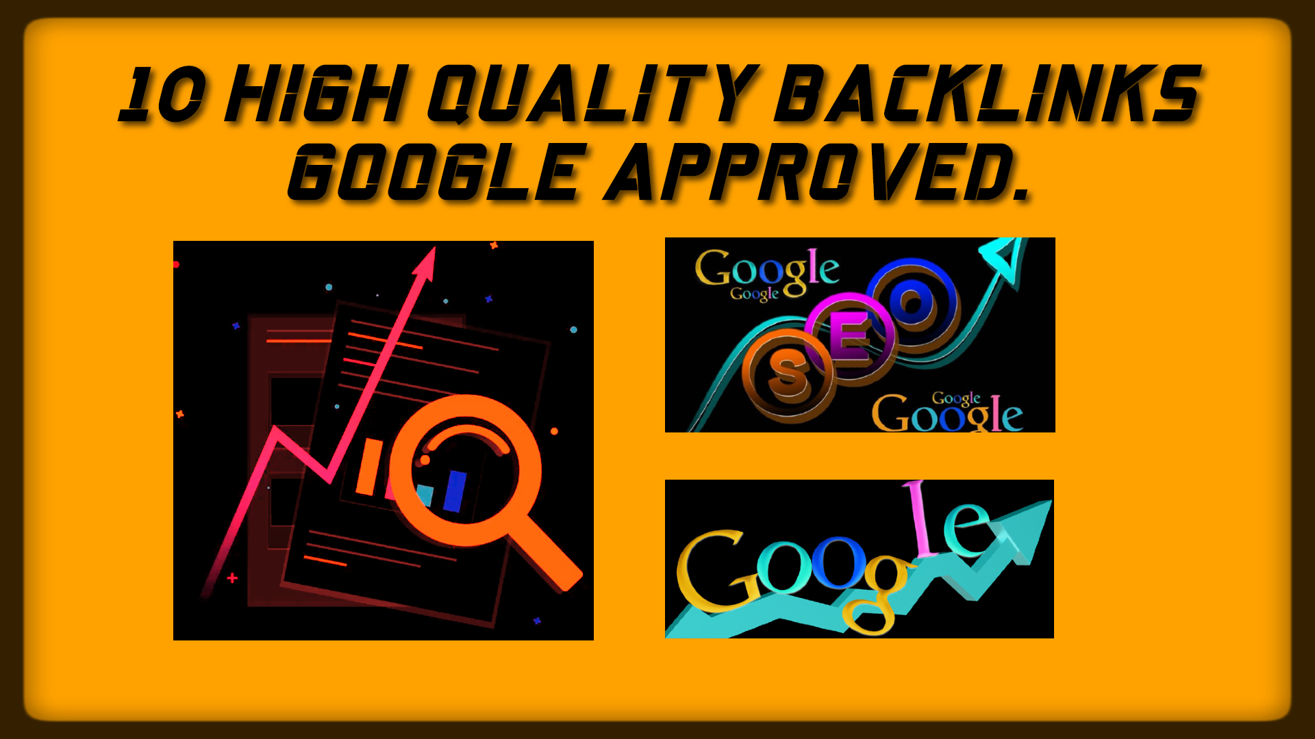 Create 10 High Quality Da/Pa 50+ Tf/Cf 25+ Backlinks Google Approved