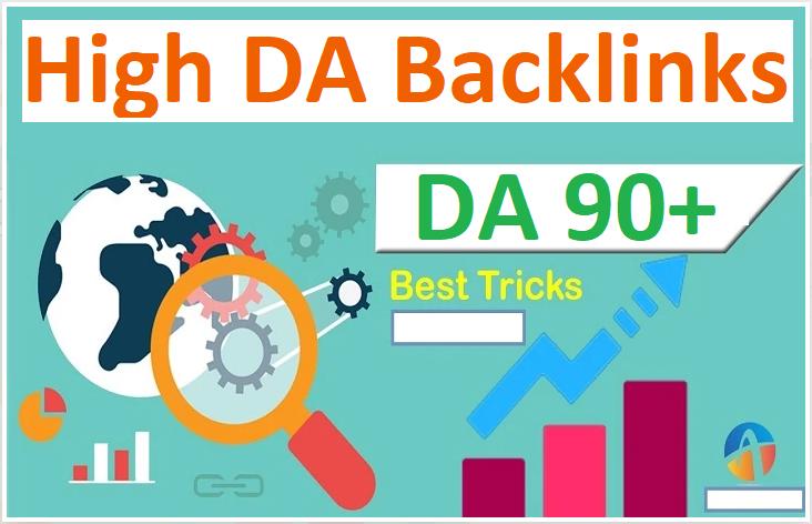 I will Create 75 High DA 90+ dofollow backlinks