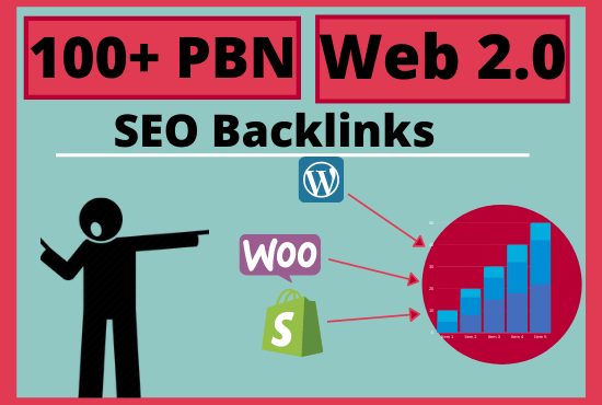 100 Web 2.0 PBN Homepage SEO Backlinks Boost your Rankings Instantly