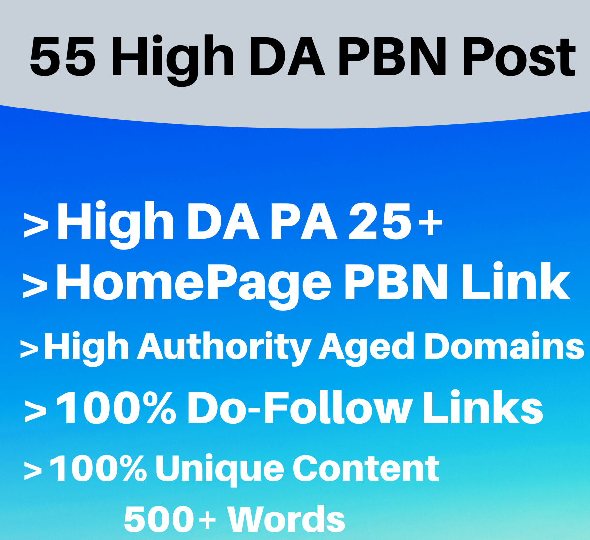 55 High Quality PBN Backlinks with high DA PA Dofollow links