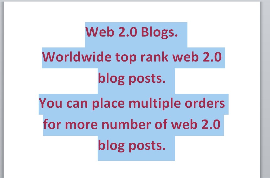 10 web 2.0 blog with unique article with your given links and keywords.White Hat SEO. Increase SERP.