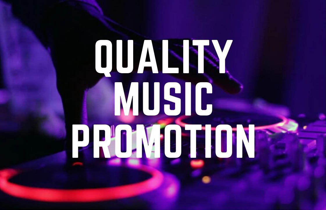 4 Music promotion for audio track