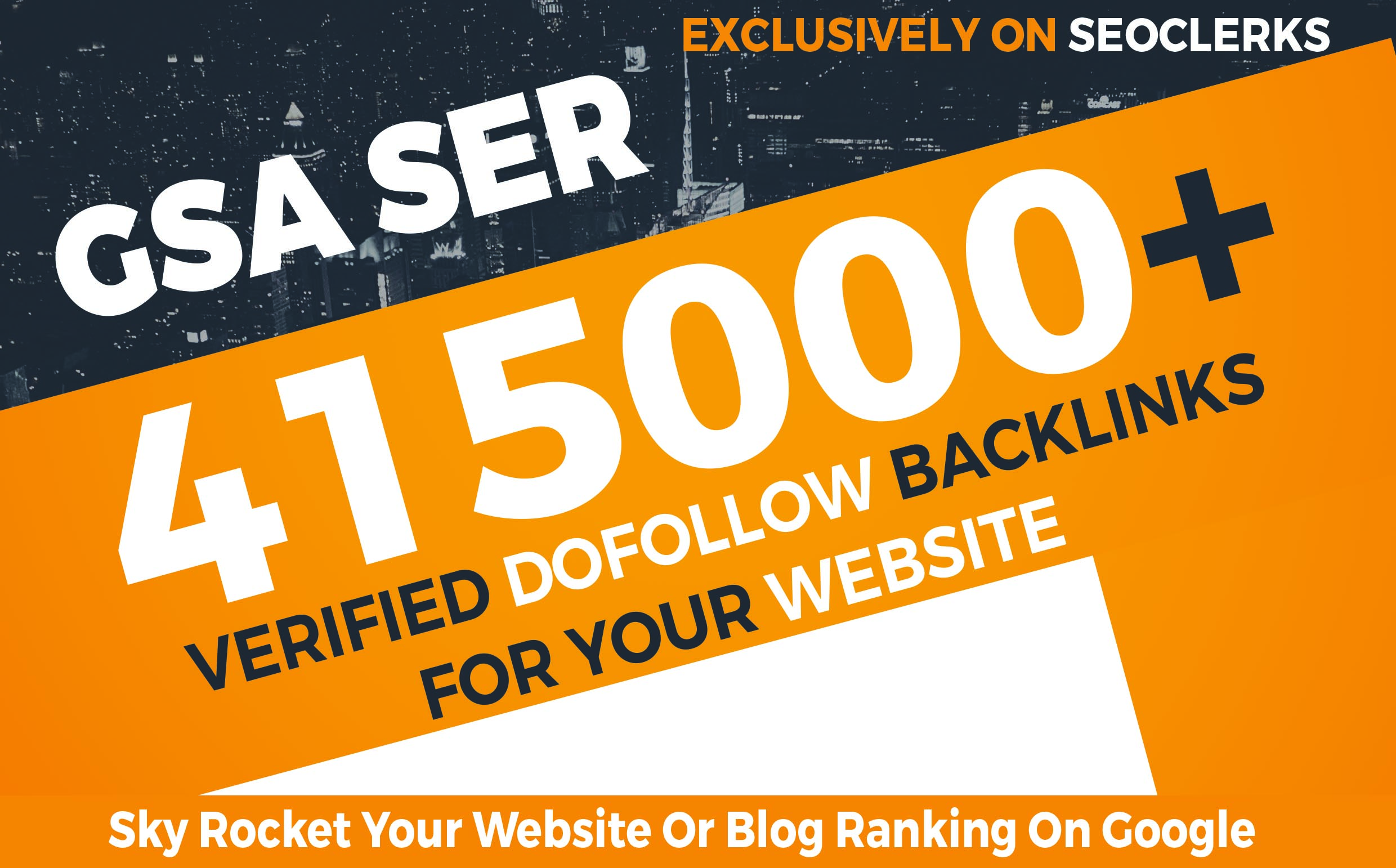415,000 GSA SER Dofollow Backlinks to Boost your Site Ranking on Google SERP
