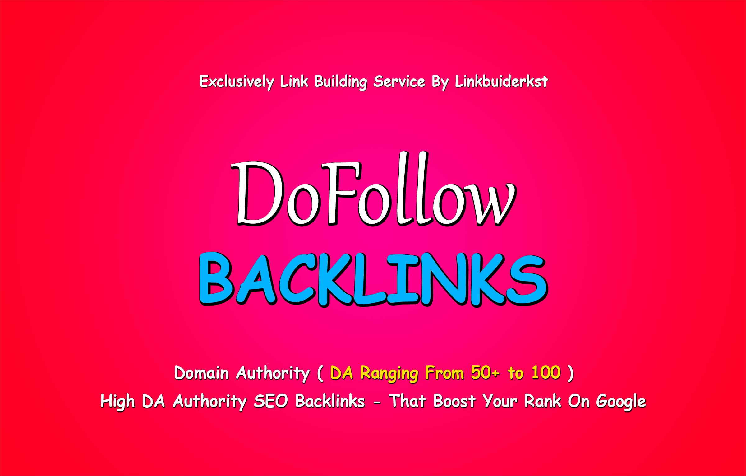 30 Handmade Dofollow Backlinks For Google Ranking