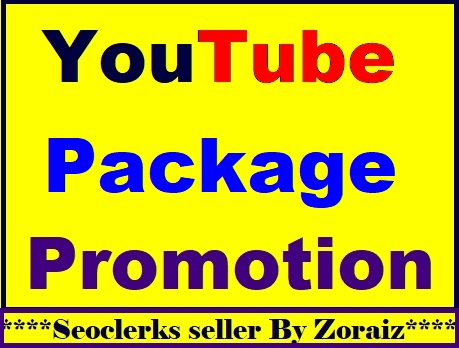 Best YouTube Video All In One Package Promotion Services Fast