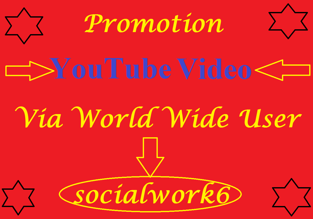 Real Increase YouTube Video Via world Wide User