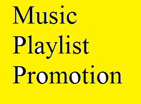 Get Music Playlist Promotion only