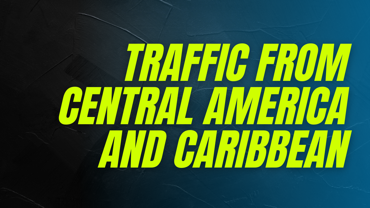 4000 Real Traffic From Central America and Caribbean Countries