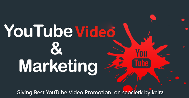 HIGH Quality YOUTUBE VIDEO PROMOTION & MARKETING