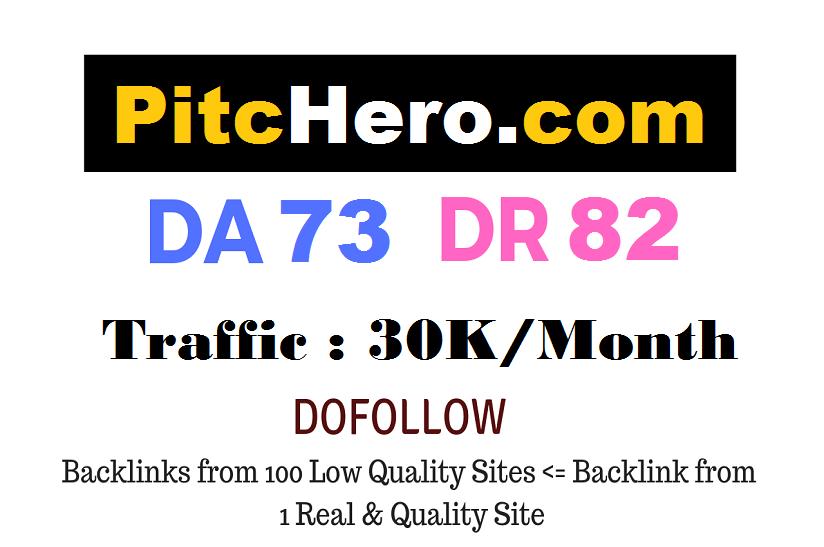 Guest Post on Pitchero. com DA73 DR82
