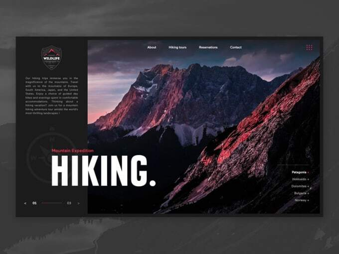 Create your landing page or custom web design