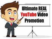 Give You Real YouTube Video Promotion Worldwide