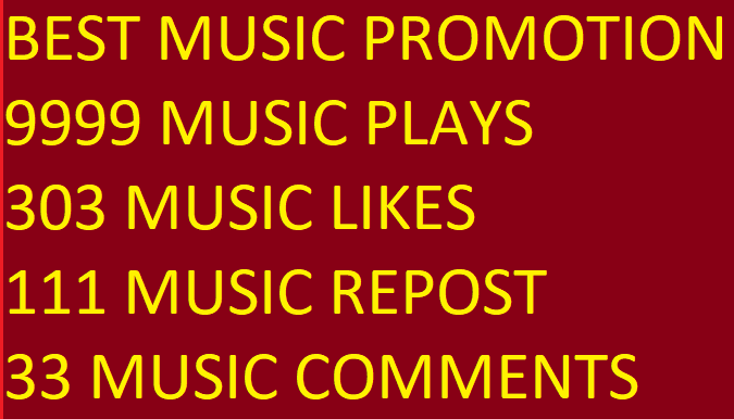 BEST MUSIC PROMOTION 9999 PLAY WITH 303 LIKES-FAVORIT...