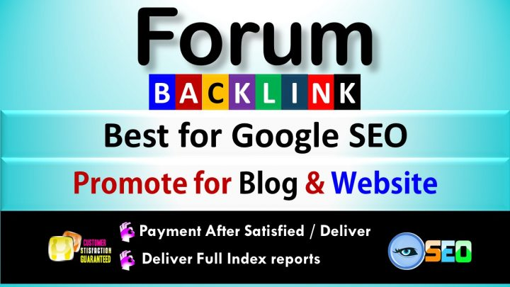 1000 FORUM PROFILES BACK LINKS