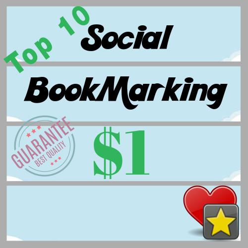 Top 10 High PR PA DA Social Bookmarking Sites Backlinks Help to Google Rank