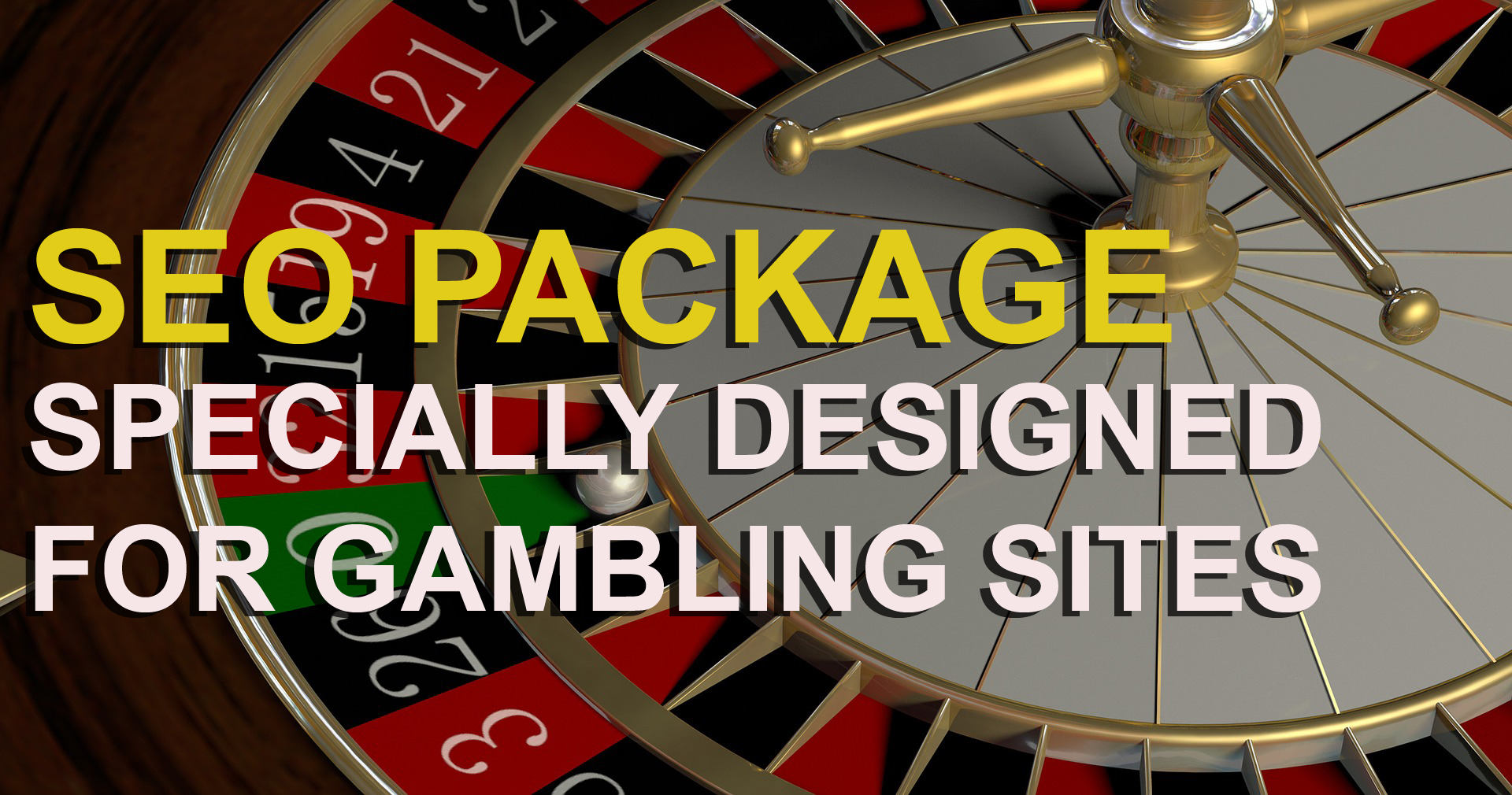 SEO Package Specially Designed For Gambling Sites