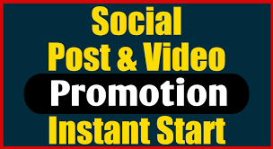 Fast Social Photo and Video Promotion