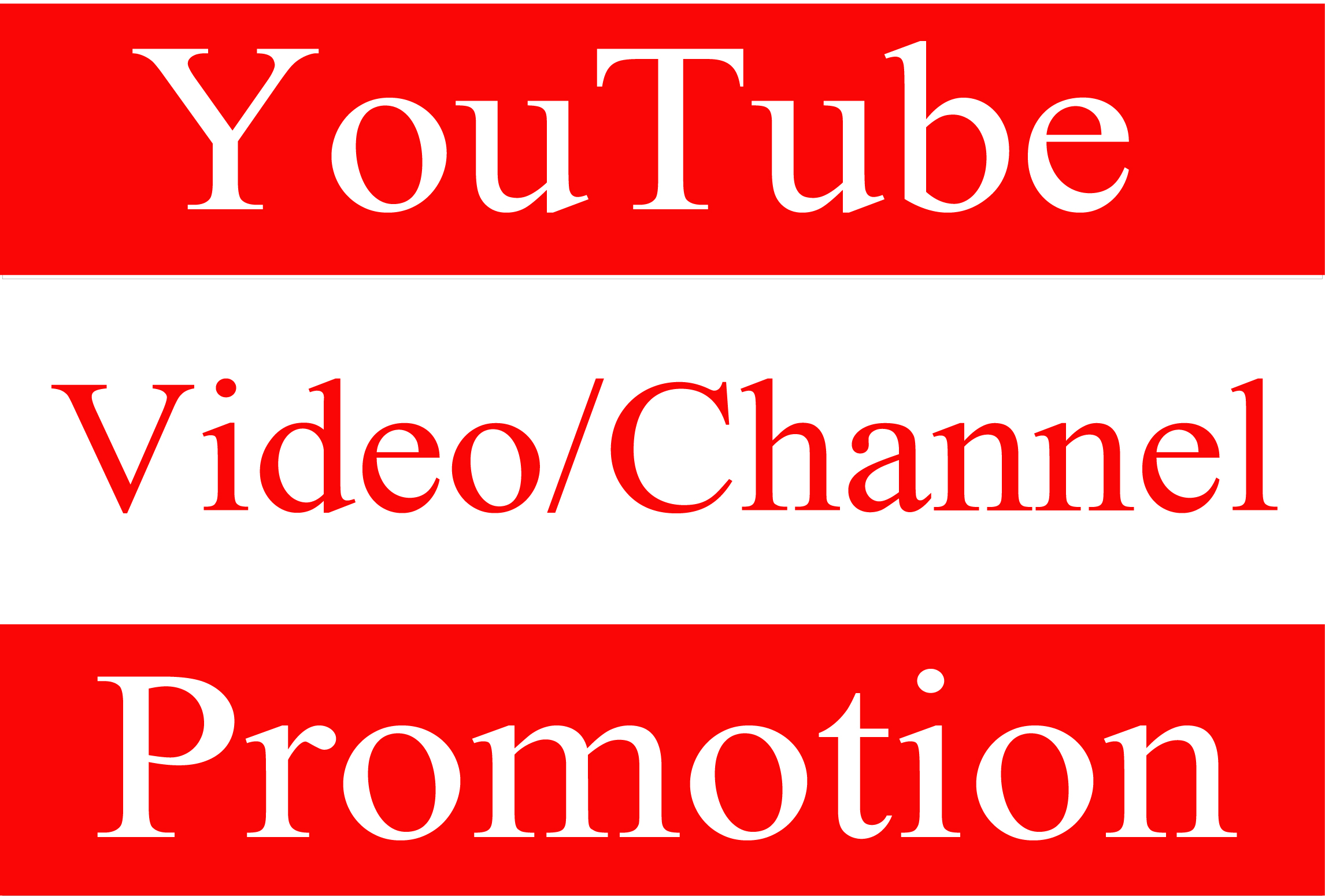 YouTube Account/Video Promotion Worldwide and Real Audience