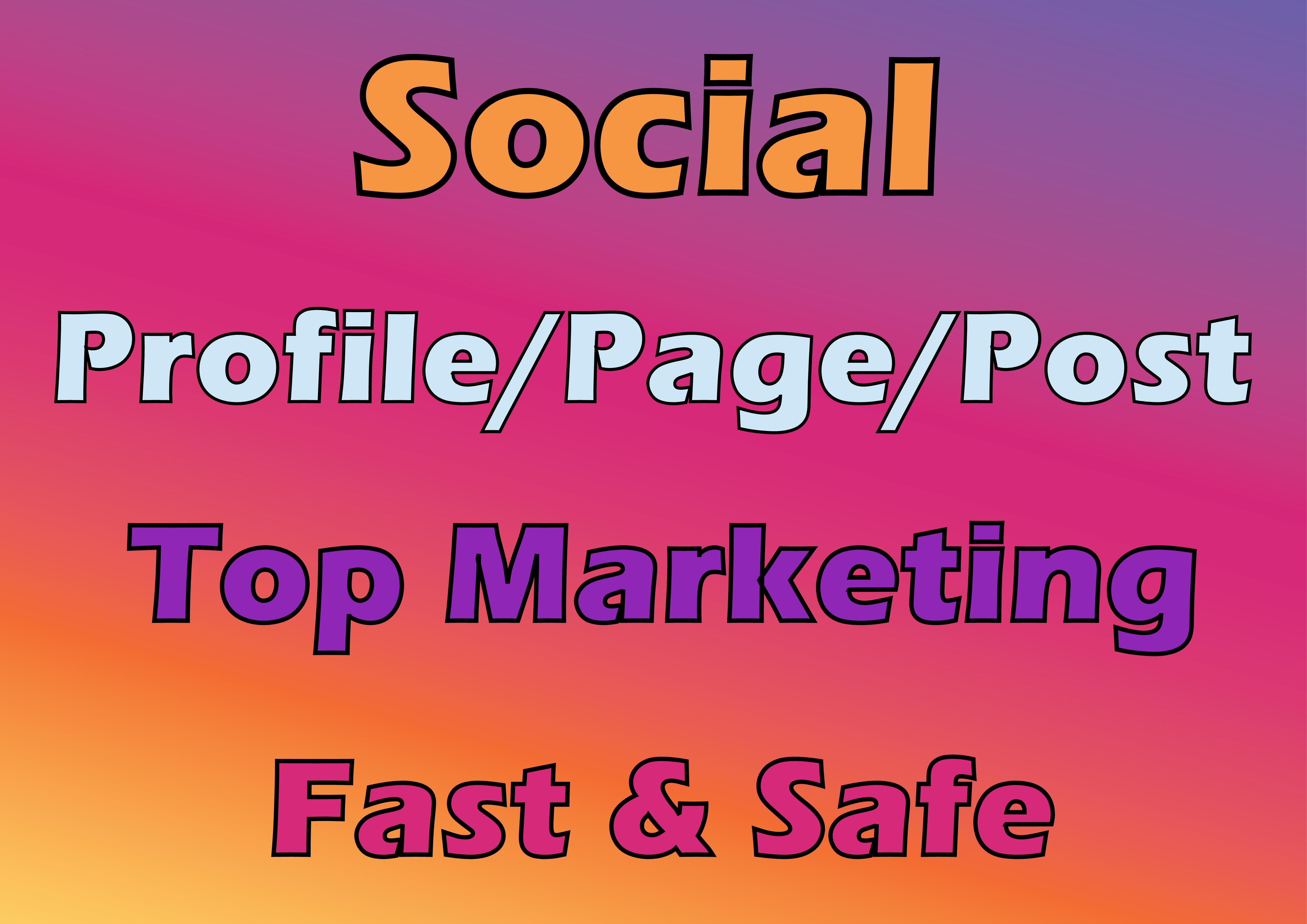 do Organic Social Profile Growth Marketing Fast