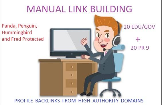 20 Edu - Gov + 20 PR 9 High DA SEO Authority Backlinks - Fire your Google Ranking