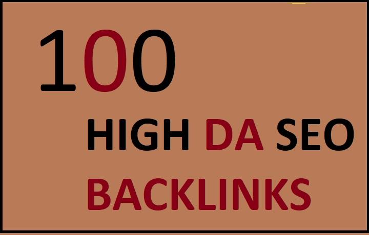 I will do 100 SEO backlinks,  linkbuilding
