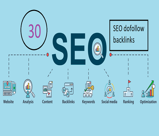 I will do 30 SEO dofollow backlinks,  link building for increase google traffic