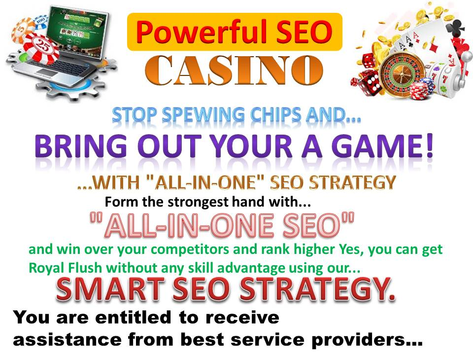 Get Powerful Rank Boost On-Casino/Poker/Gambling 600+ Mix SEO For skyrocket Google 1st Page
