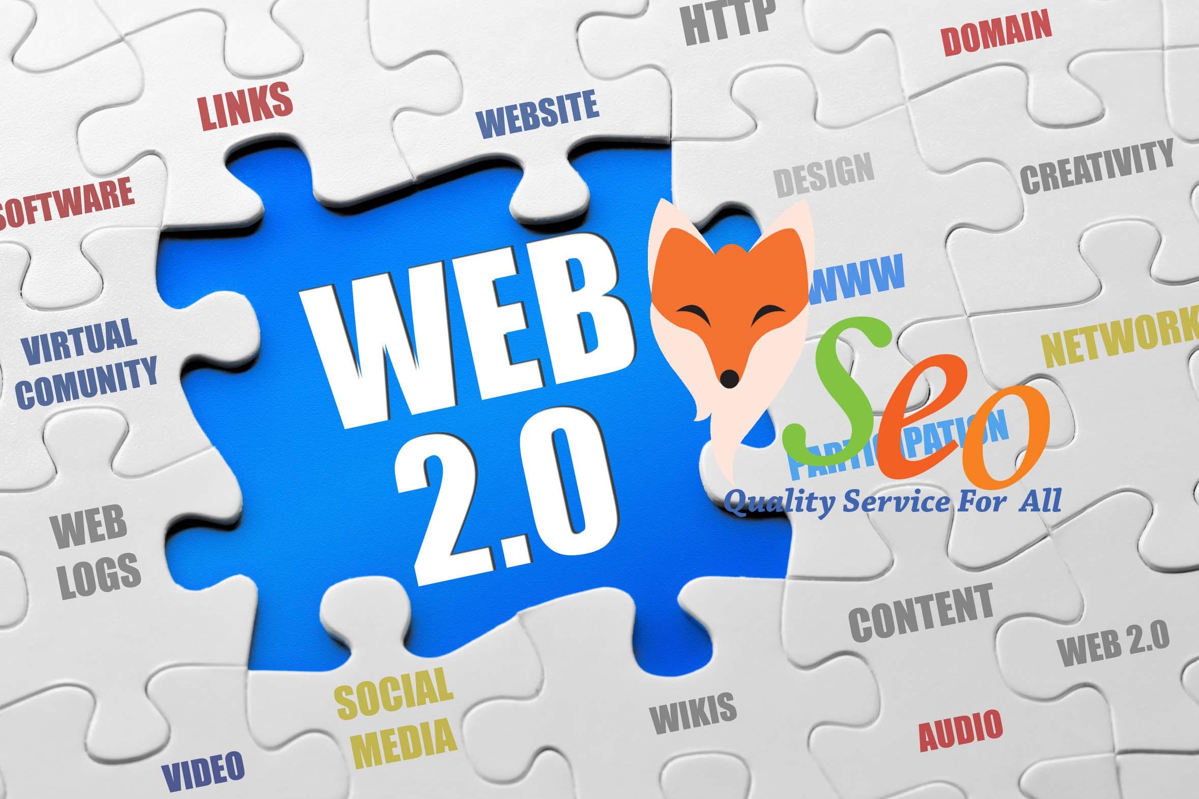 Rank on Google with 40 Dofollow Manually Created web 2.0,  Profile,  Wiki Backlinks