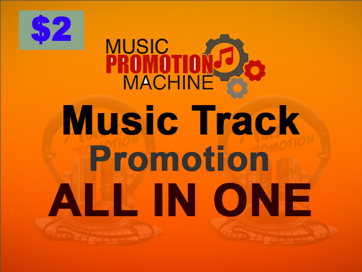 Music Promotion in Your Audio or Music Track