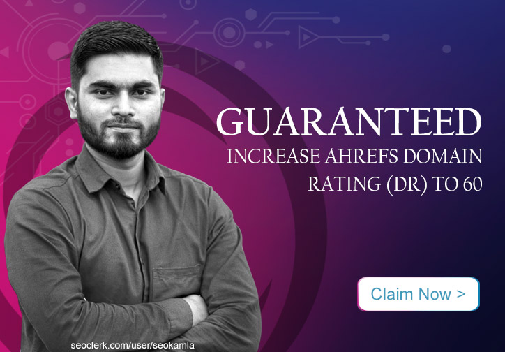 Guaranteed - Increase Your Domain Rating Ahrefs DR to 60+ or Your Money-Back