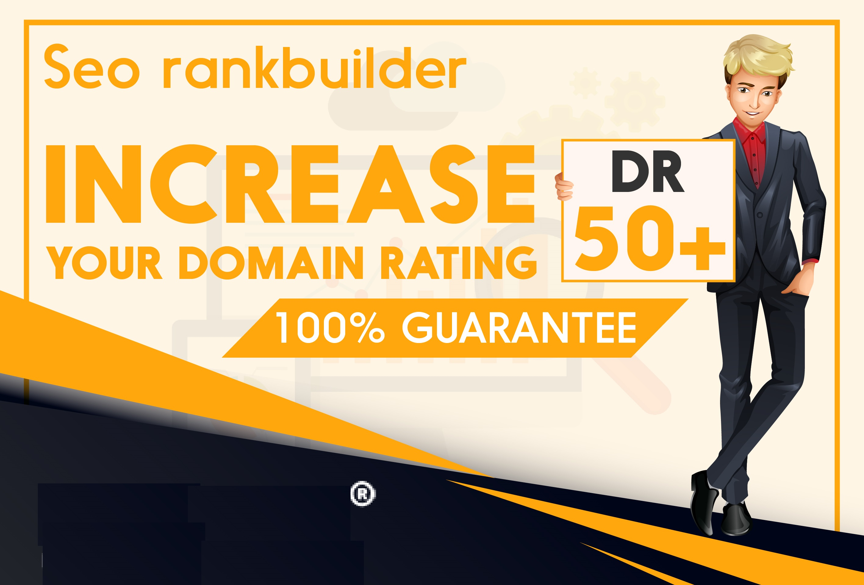 I will increase domain rating DR ahrefs 30 plus