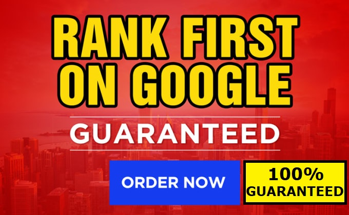 Rank your Website 1st Page of GOOGLE Money Back Guarantee