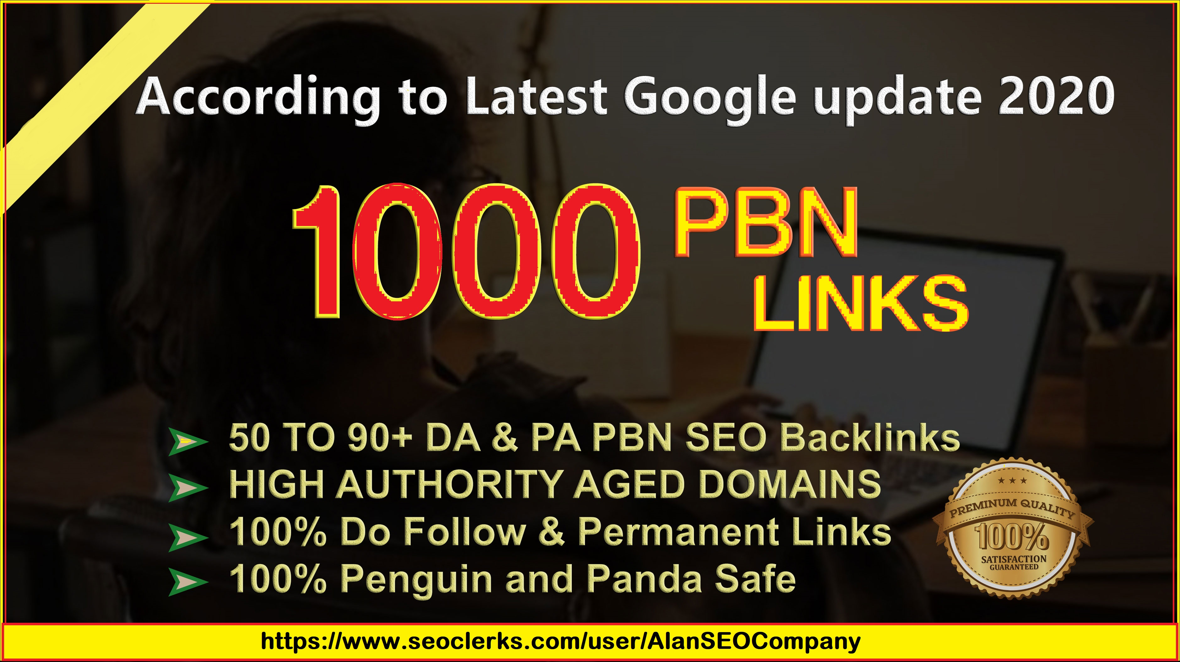 1000 DA 50-90+ PBN Backlinks With High Domain Authority