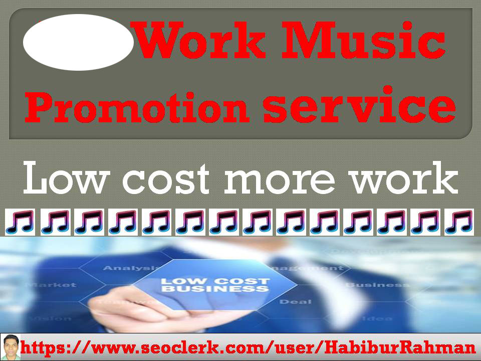 Natural Music Promotion i will do added super work in your Audio & Music