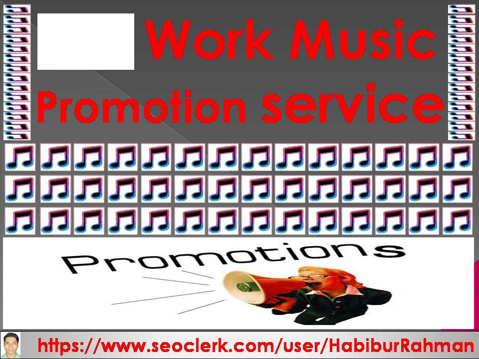 Get natural music promotion super fast delivery to your music track audio & music