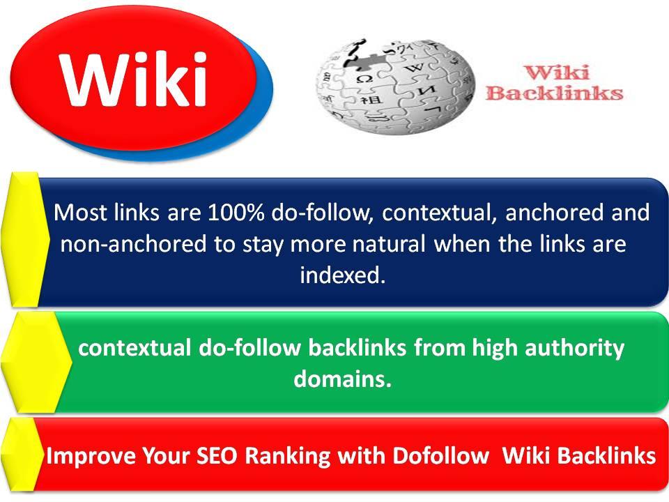 Improve Your SEO Ranking with 35 Plus Dofollow Wiki Backlinks