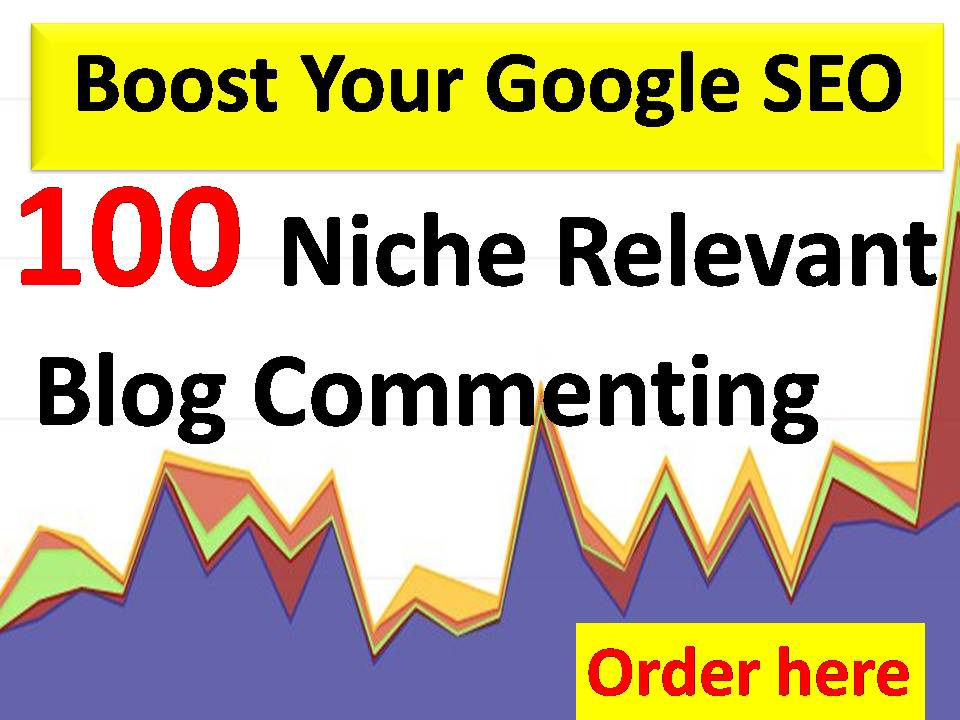 100 Niche Relevant Blog Commenting HQ backlinks With very fast delivery