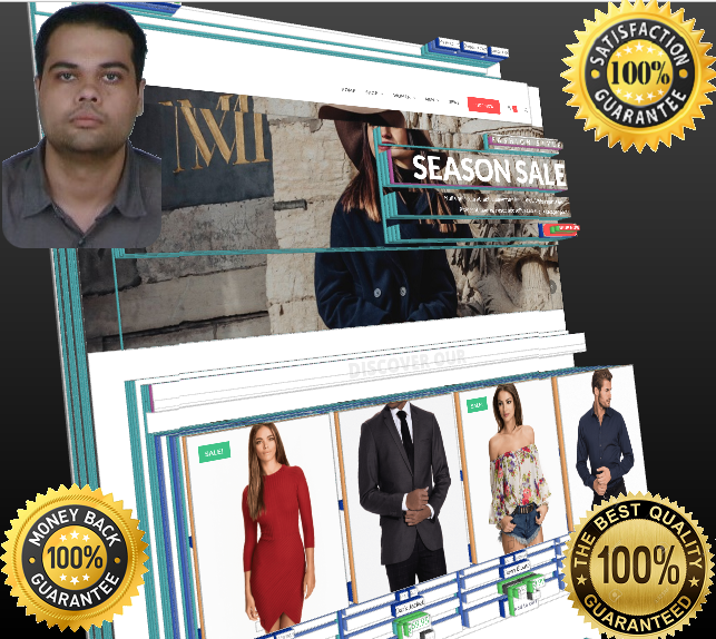 Design or redesign ecommerce,  affiliate,  dropshipping,  shopify to wordpress website and SEO