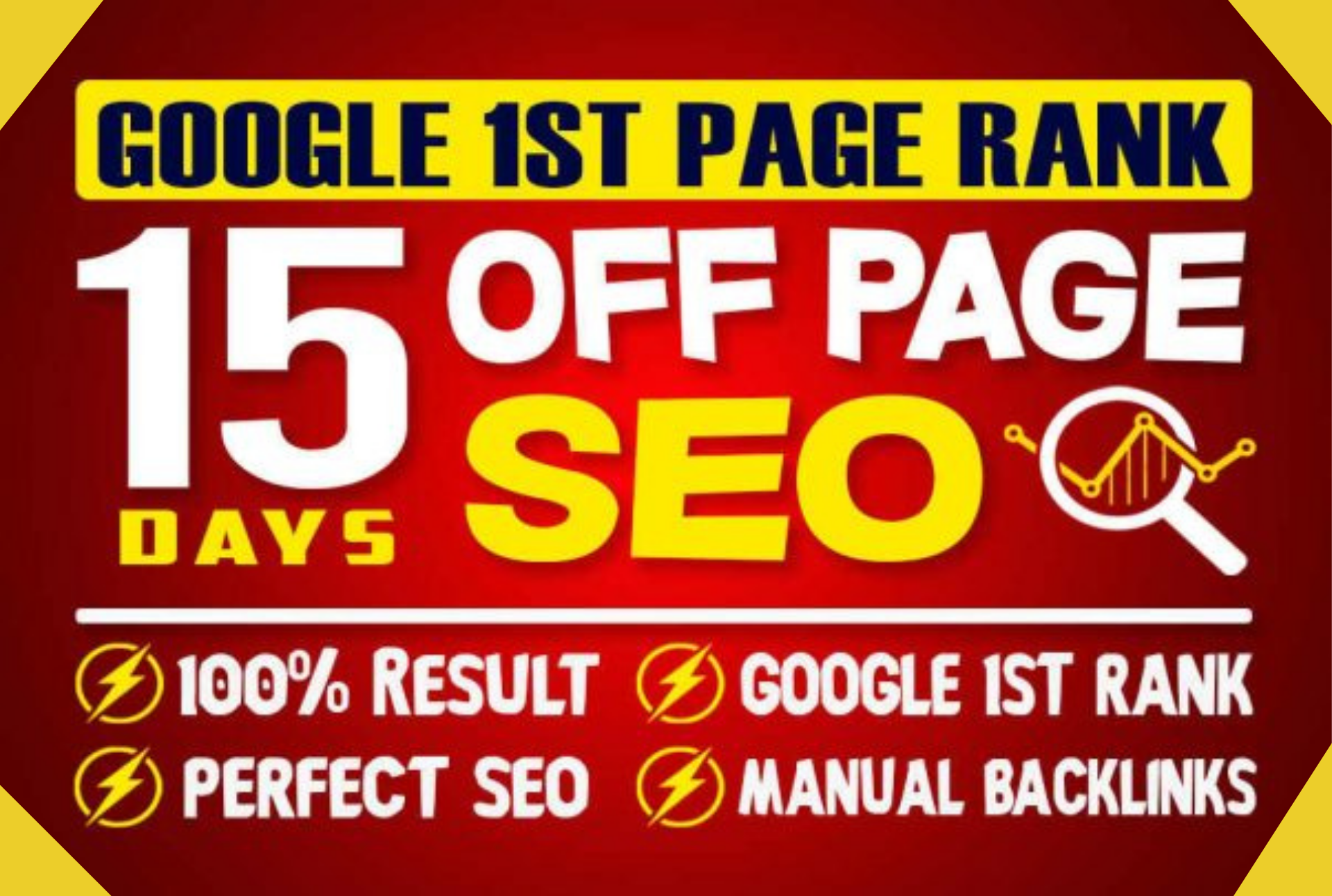 15 days Off-page SEO with Backlinks