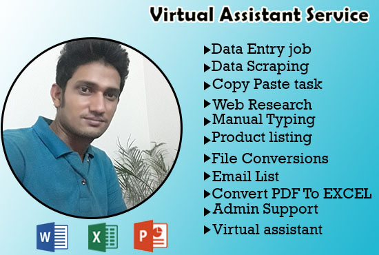 I will be your virtual assistant and social media admin support