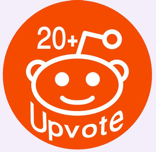 Provide You 20+ Real People Reddit Global Upvotes