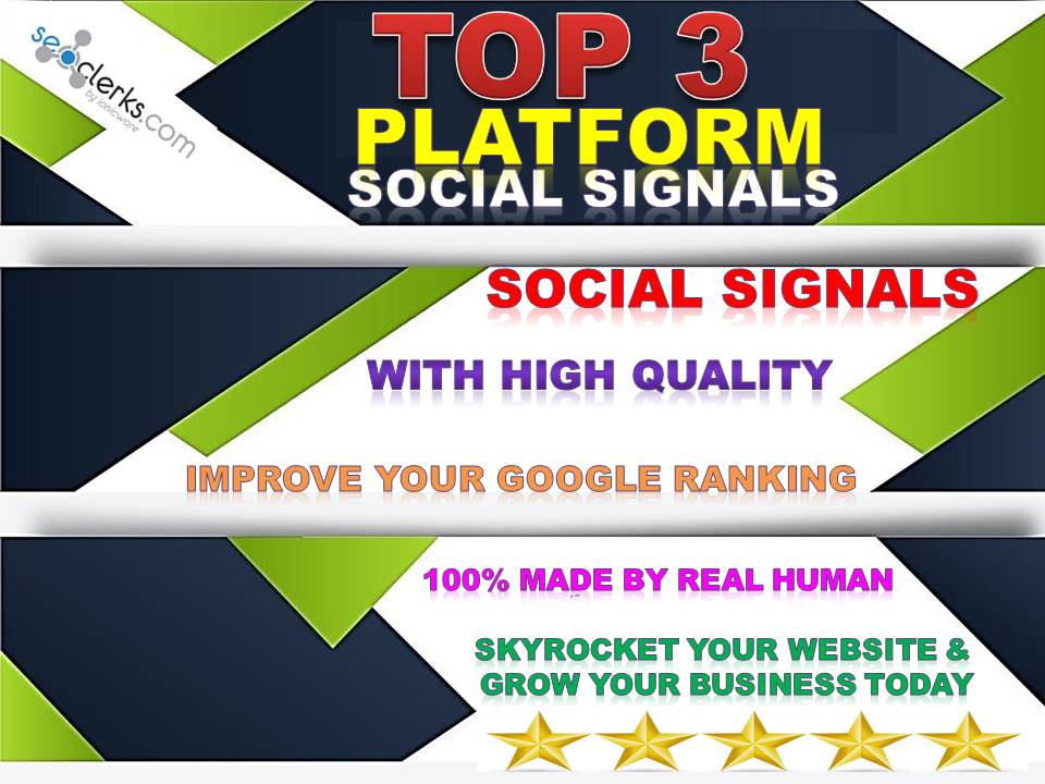 GET 30K SEO MIXED TOP 3 PINTEREST, WEB, TUMBLR SOCIAL SIGNALS FROM BACKLINKS TO WEBSITE IMPROVING
