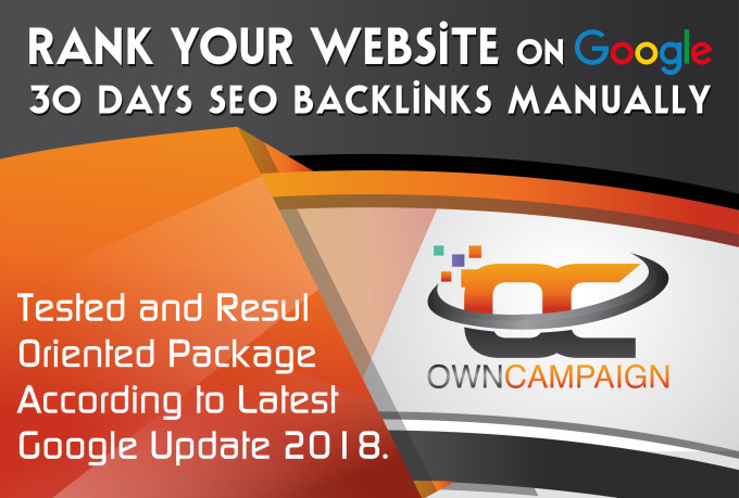rank your website on google,  30 days SEO backlinks