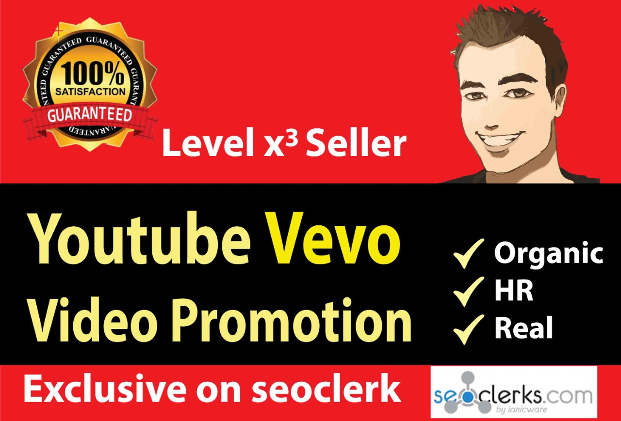 Youtube Vevo video promotion for getting real audiences