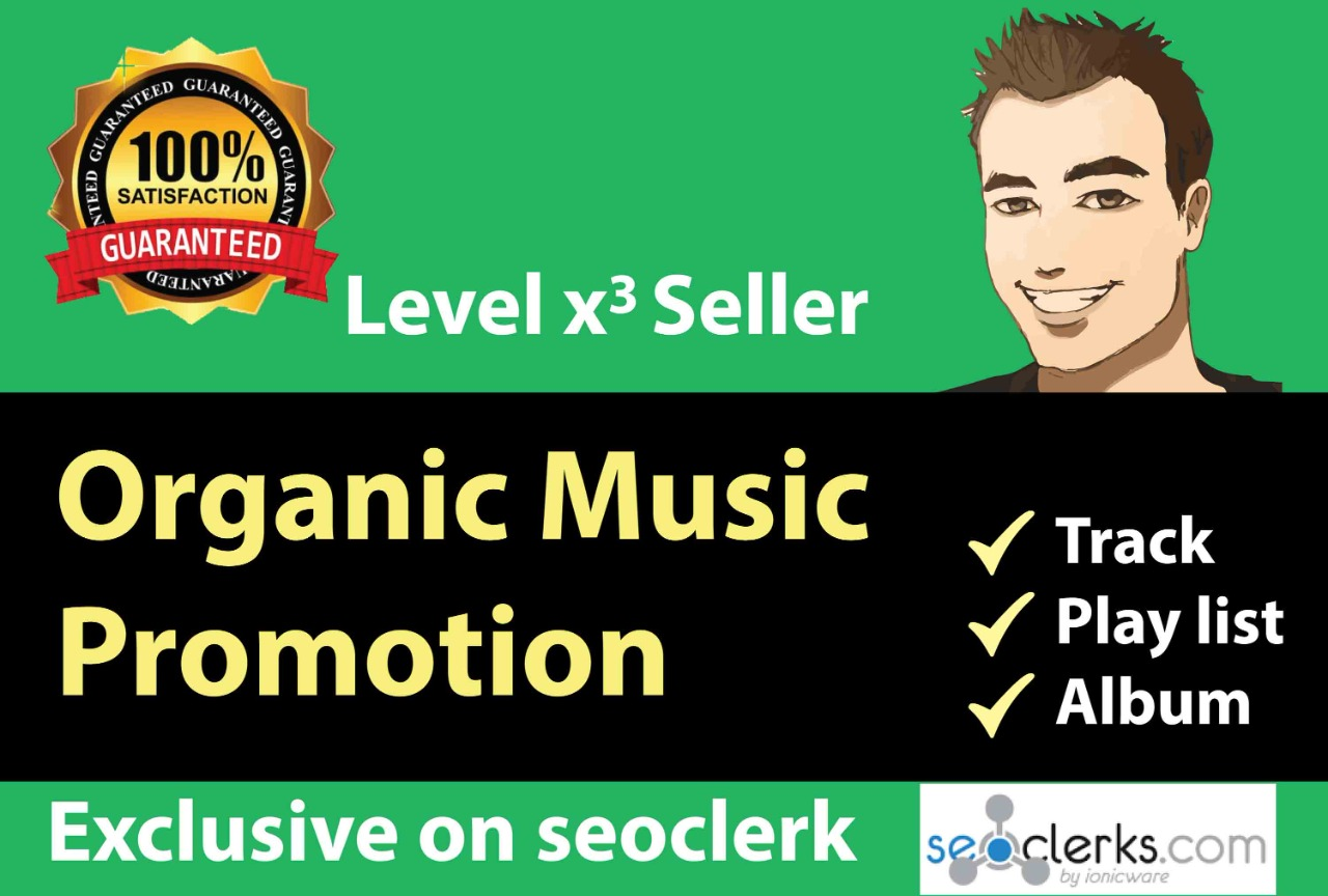 Premium music promotion for your playlist increase listeners