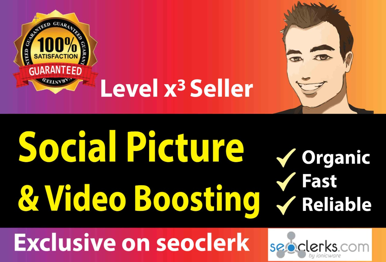 Instant social Media picture/video promoting service
