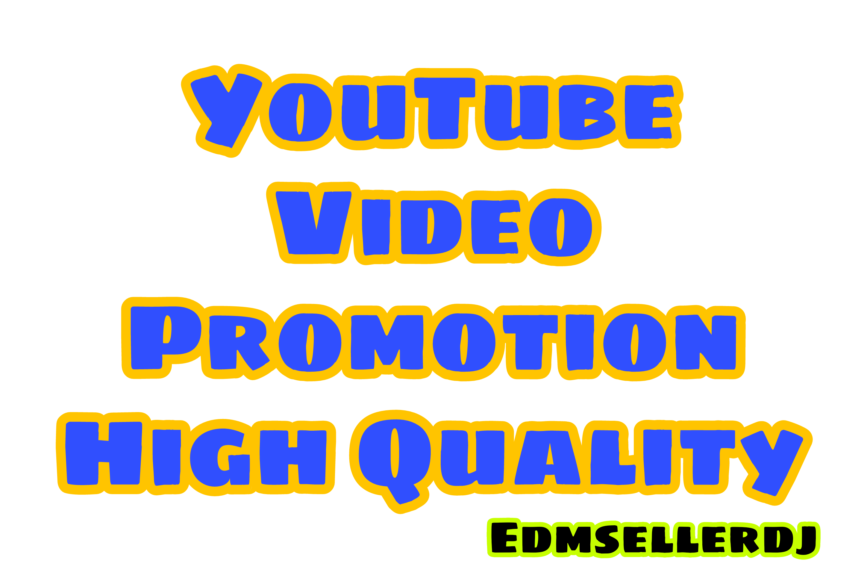 High Quality YouTube Promotion Video And Marketing