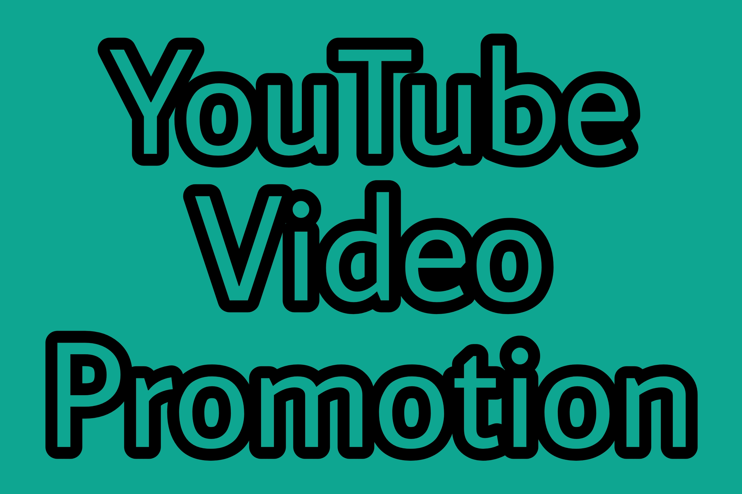 I Give Youtube Video Promotion By Real Users Only