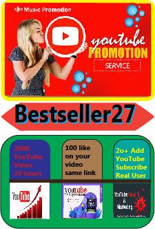 YouTube Video Marketing Promotion Social Media